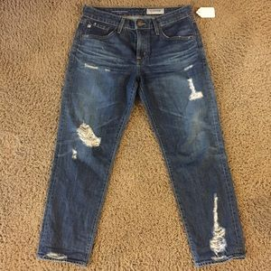 Ex - boyfriend slim distressed jeans